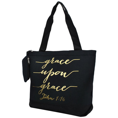 Grace Upon Grace NGIL Canvas Tote Bag