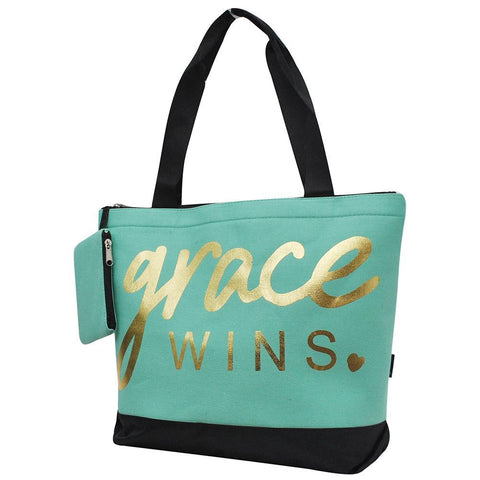 Grace Wins NGIL Canvas Tote Bag