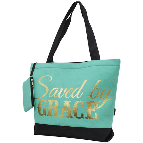 Saved By Grace NGIL Canvas Tote Bag