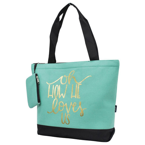 Overnight bag, monogram gifts for her, personalized accessories bag, personalized tote for women, personalized gifts for her, NGIL Brand, ngil tote, tote bag supplier, mint tote bag, mint tote, wholesale tote bags bulk.