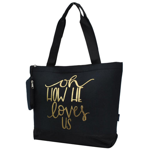 How He Loves Us NGIL Canvas Tote Bag