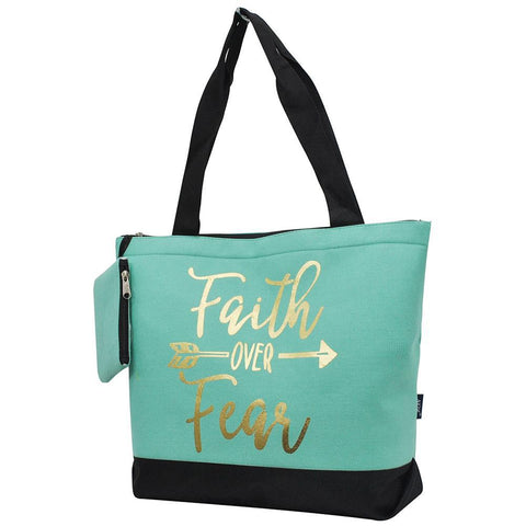 Faith Over Fear NGIL Canvas Tote Bag