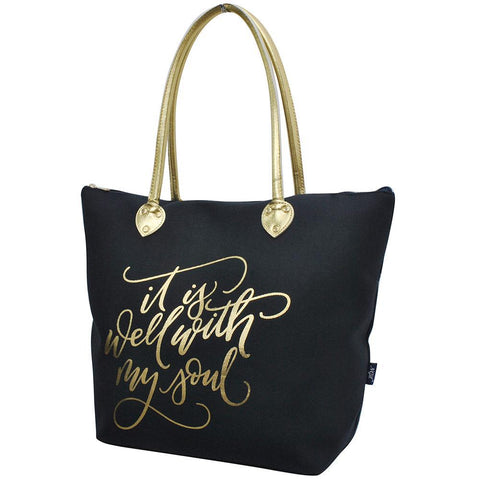 It Is Well With My Soul NGIL Gold Collection Tote Bag