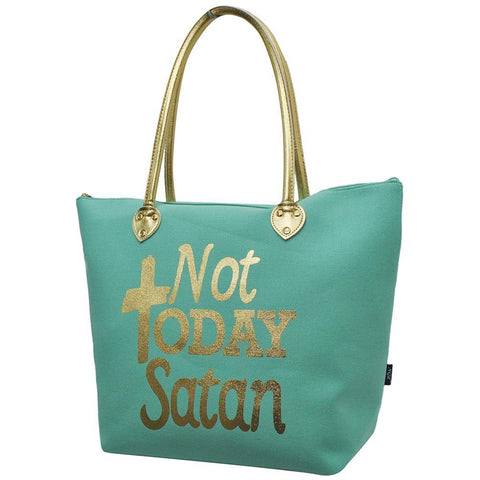 Not Today Satan NGIL Gold Collection Tote Bag