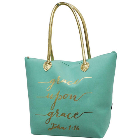 Grace Upon Grace NGIL Gold Collection Tote Bag