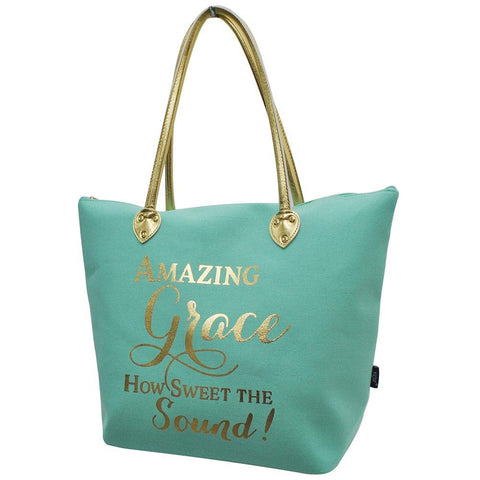 Amazing Grace NGIL Gold Collection Tote Bag