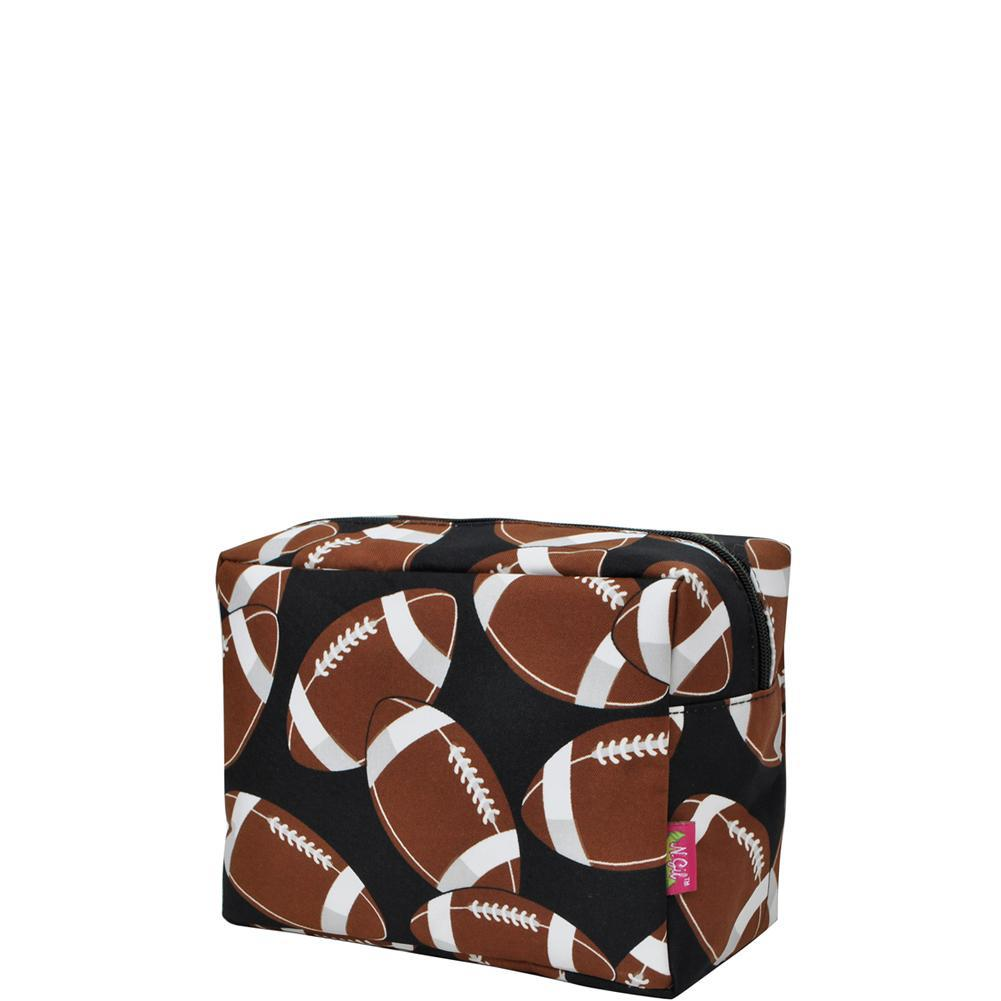football cosmetic cases, football makeup case, Cosmetic bags for travel, women's travel make up bag, makeup pouch for her, makeup bag gift purchase, cosmetic bags in bulk, cosmetic organizer for bathroom, travel pouch bags personalized,