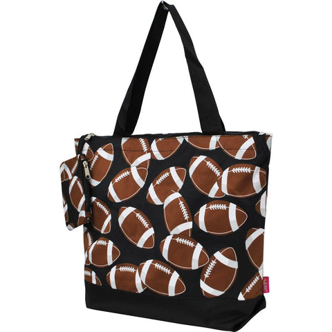 Tote for women zipper, cute football mom tote, monogram tote bags in bulk, tote bags, monogram bags totes, monogram tote for women, monogram NGIL Brand, monogram travel accessories, monogram tote for women zipper, ngil utility tote.