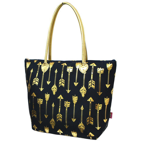 Gold Navy  Arrow NGIL Gold Collection Tote Bag