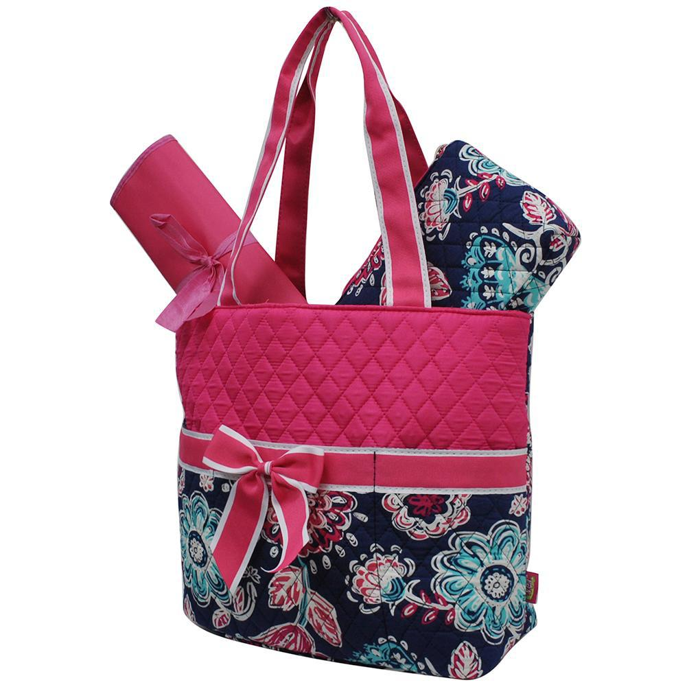 Medieval Blossom NGIL Quilted 3pcs Diaper Bag
