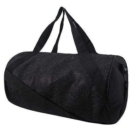 Black Medium Glitter NGIL Duffel Bag