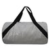Silver Medium Glitter NGIL Duffel Bag