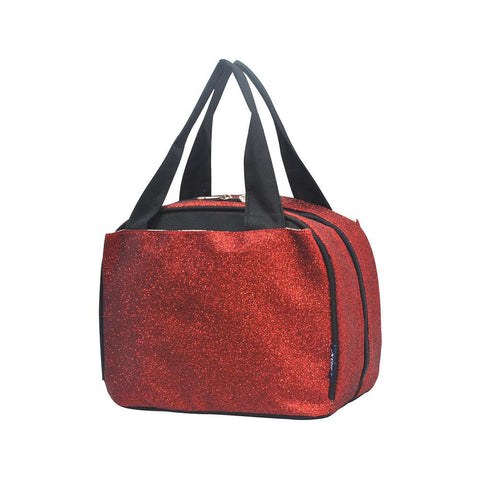 Red Glitter NGIL Insulated Lunch Bag