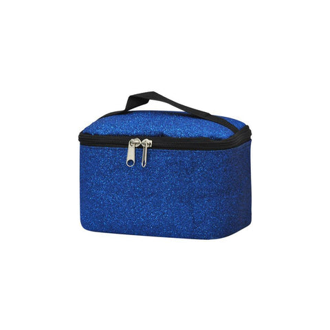 Royal Blue Glitter NGIL Cosmetic Case