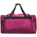 "Hot Pink Glitter NGIL Canvas 23"" Duffle Bag"