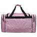 "Pink Glitter NGIL Canvas 23"" Duffle Bag"