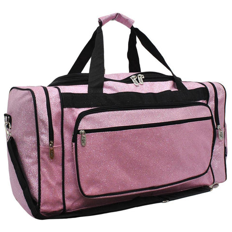 Glitter duffle bags for women large, pink bag, pink gym duffle, wholesale cheer duffle bags, dance bag for dancers, personalized dance duffle bags, cheer gifts for team in bulk, cheer gifts or coaches, monogrammed duffle bags for women, personalized gifts for her.