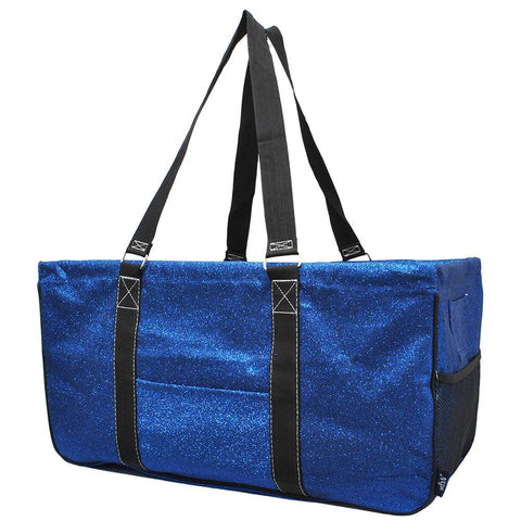 Royal Blue Glitter NGIL Utility Bag