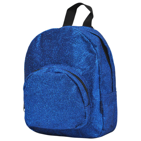 Royal Blue Glitter NGIL Mini Backpack