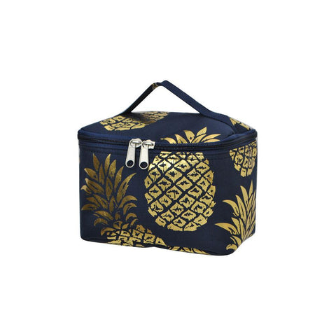 Gold Navy Pineapple NGIL Cosmetic Case