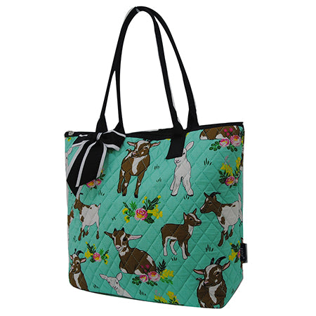 Happy Goat World NGIL Quilted Tote Bag