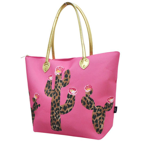 Southern Leopard Cactus NGIL Gold Collection Tote Bag