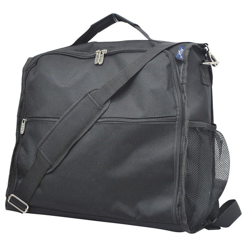Black Solid NGIL Canvas Diaper Backpack