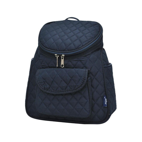 Solid Navy NGIL Quilted Mini Backpack