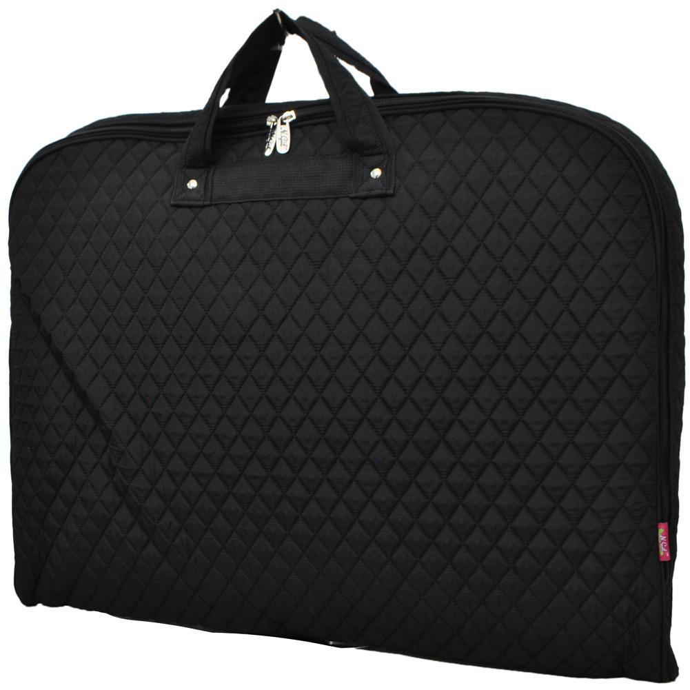 Solid Quilted Black NGIL Garment Bags