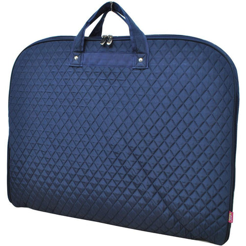 Solid Quilted Navy NGIL Garment Bags