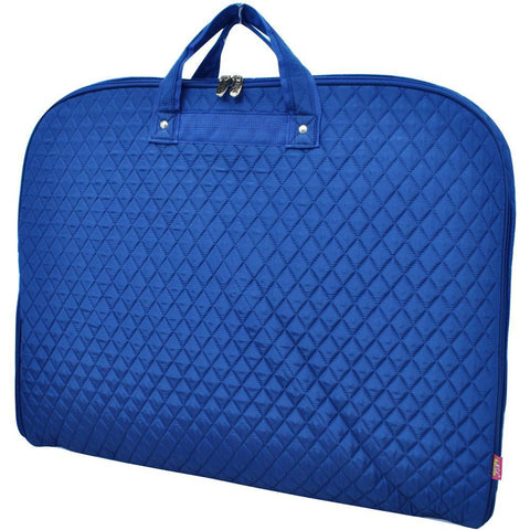 Solid Quilted Royal NGIL Garment Bags