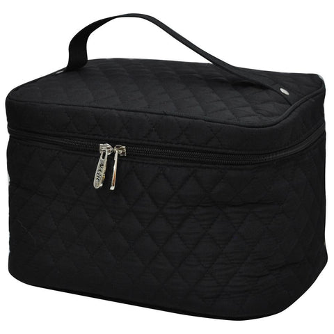 Black NGIL Large Top Handle Cosmetic Case