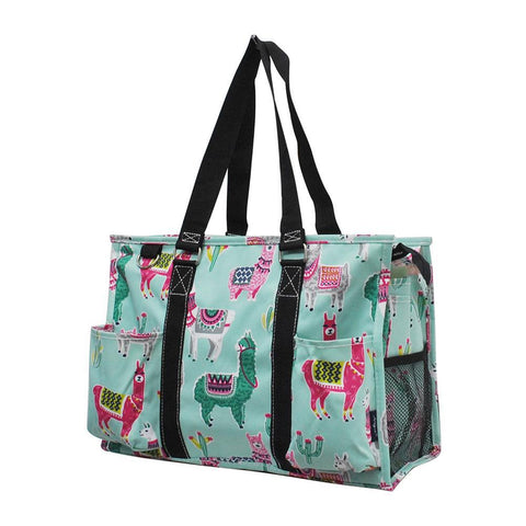 NGIL Brand, Gifts for teacher, monogram travel accessories, monogram tote for women zipper, monogram tote bags in bulk, nurse canvas tote, wholesale totes, tote bags, monogram bags totes, monogram tote for women, blue tote, llama print.