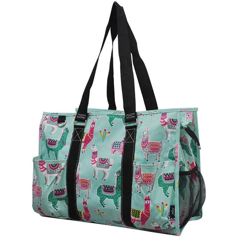 Llama NGIL Zippered Caddy Large Organizer Tote Bag