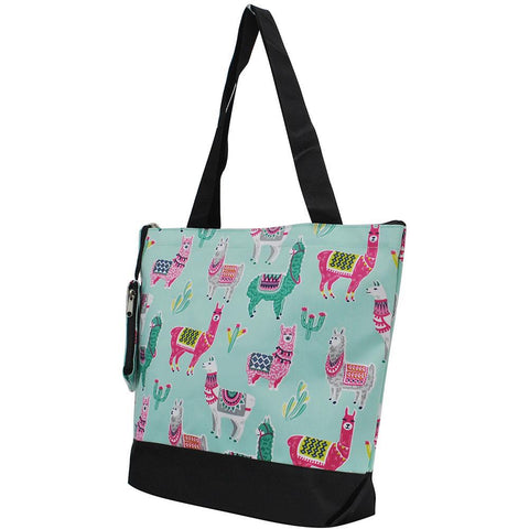 NGIL Brand, Personalized Travel Bag, monogram gift ideas, personalized accessories for mom, gifts for mom, nice tote bags for work, nice canvas tote bag, cute llama tote bag, adorable llama bag, nice women's tote bag, ngil tote bags.