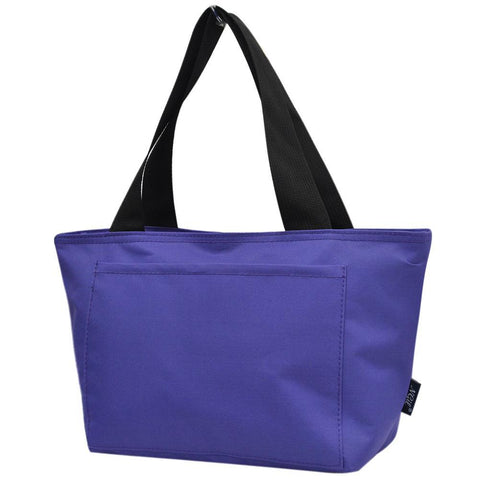Purple Solid NGIL Insulated Lunch Bag On-The-Go