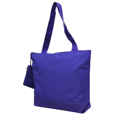 Solid Purple NGIL Canvas Tote Bag