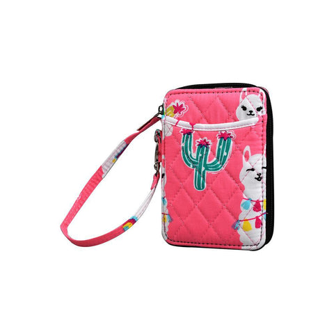 Llama World NGIL Quilted Wristlet Wallet