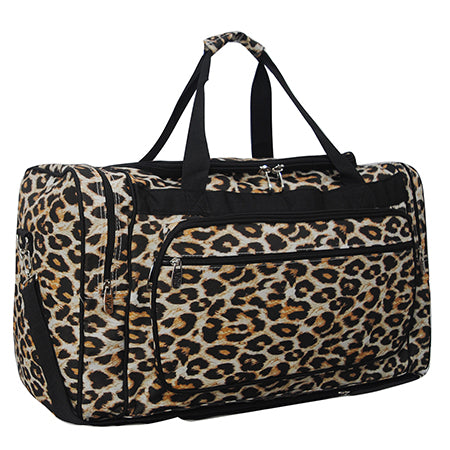 "Wild Leopard NGIL Canvas 23"" Duffle Bag"