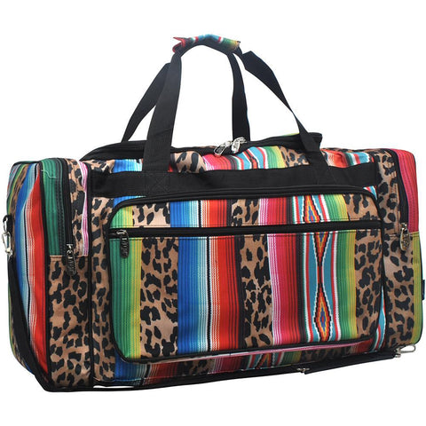 VACATION DUFFLE, Team Bag, monogram gym bag, dance bag, personalized duffel bags kids, DUFFLE BAGS CUSTOMIZED, road trip gift bag, weekender bag women travel, travel bag for women, leopard print, serape pattern.