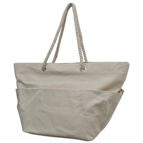 Jute NGIL Rope Handle XL Beach/Tote Bag