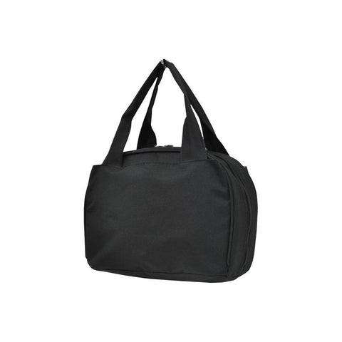 Black Solid NGIL Insulated Lunch Bag