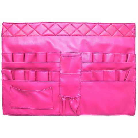 Hot Pink NGIL Cosmetic Brush Belt Strap Apron