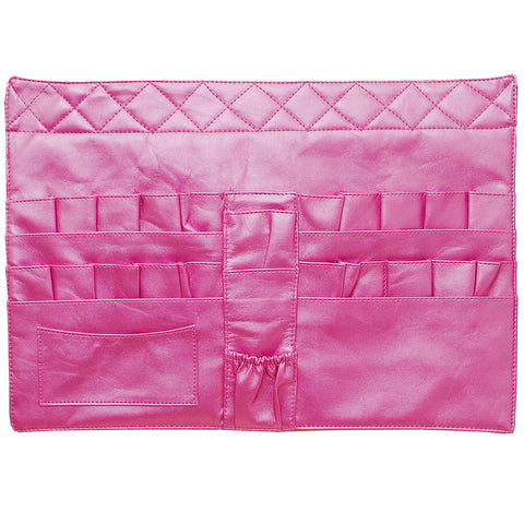 Pink NGIL Cosmetic Brush Belt Strap Apron
