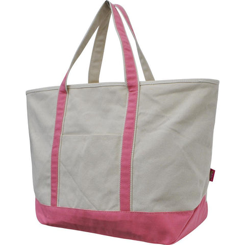 NGIL Coral Large Boat Tote Bag
