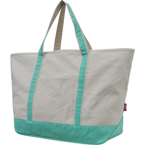 NGIL Mint Large Boat Tote Bag