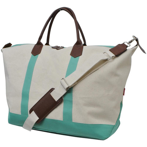 Mint NGIL Large Weekender Bag