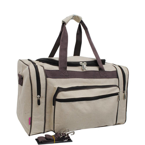 "Jute NGIL Canvas 20"" Duffle Bag"