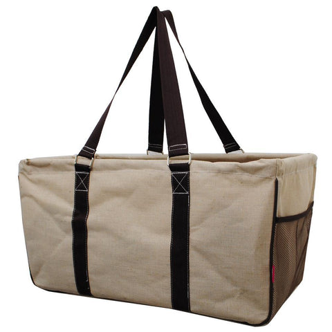 Jute / Juco Solid Color NGIL Utility Bag