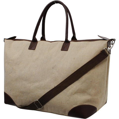 Solid Color Jute NGIL Large Shopping Bag and Tote Bag